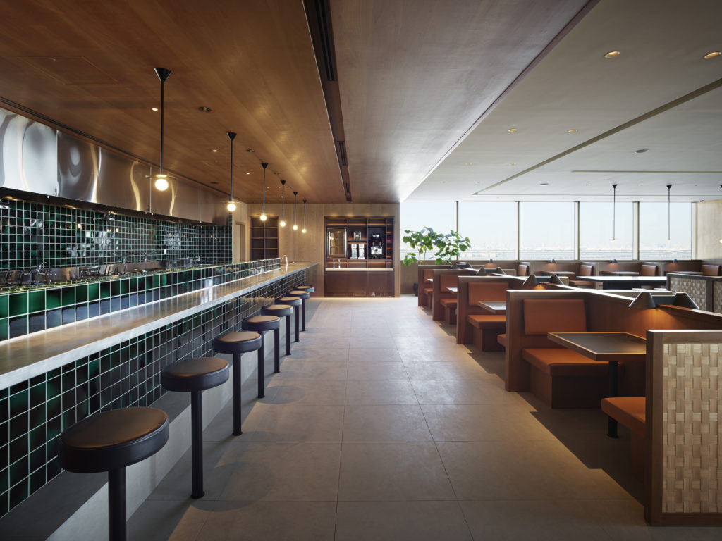 Cathay Pacific new lounge Tokyo Haneda noodle bar