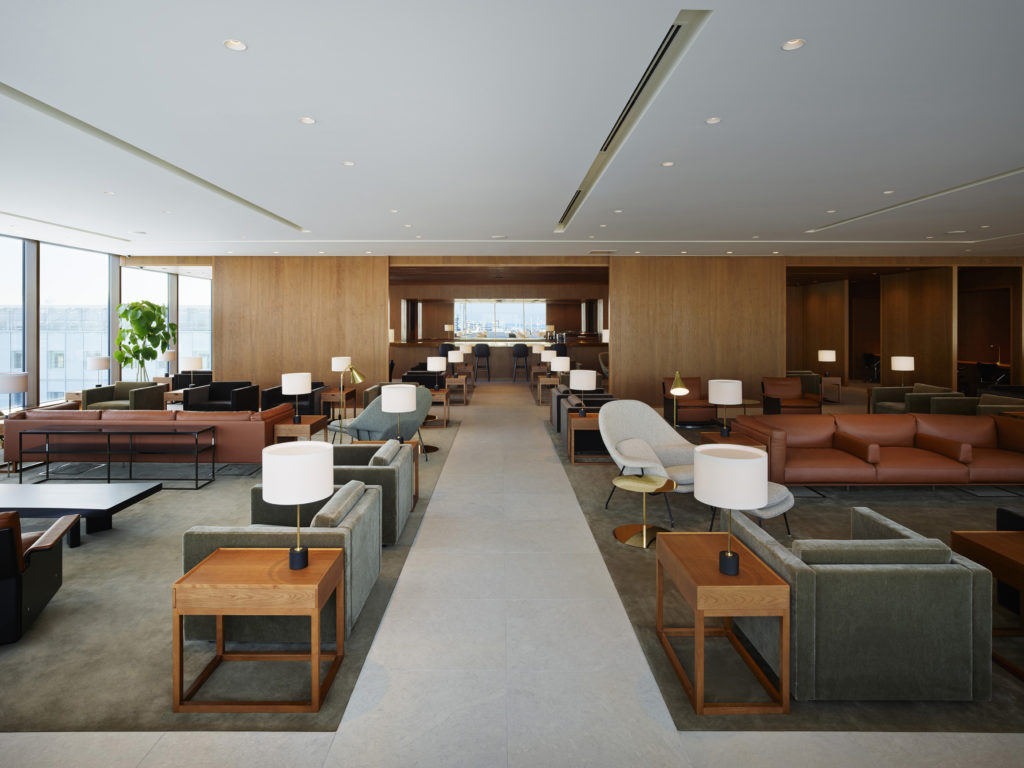 Cathay Pacific new lounge Tokyo Haneda seating, Photo: Cathay Pacific