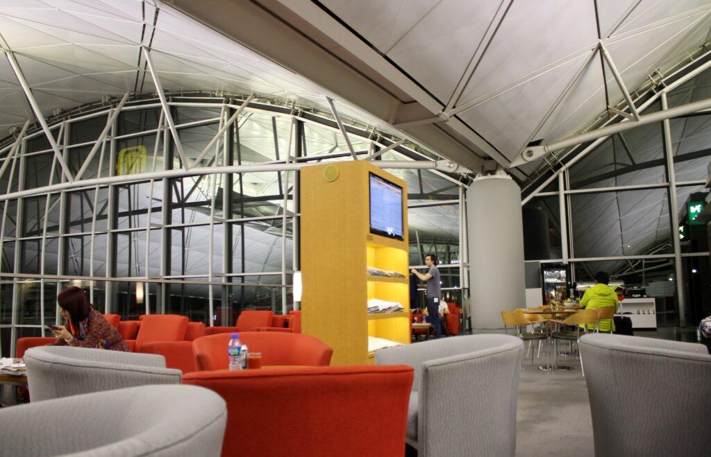 Dragonair G16 Lounge, Hong Kong