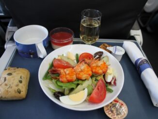 British Airways Business Class Stockholm Arlanda-London Heathrow