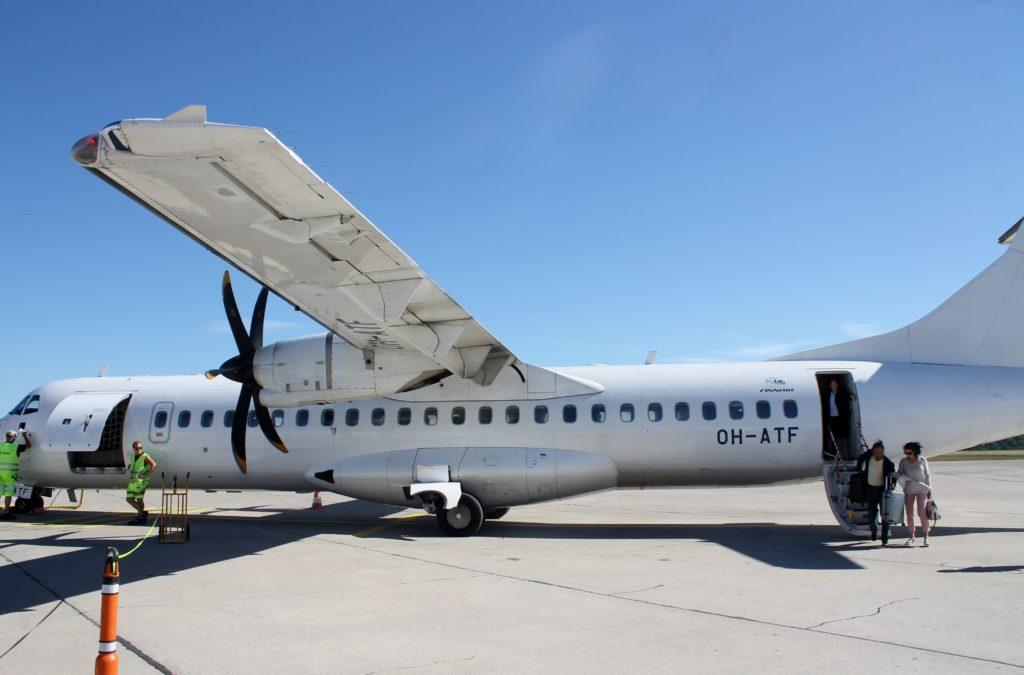 Finnair Economy Class Helsinki-Visby