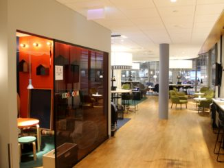 The new SAS Lounge at Oslo Gardermoen