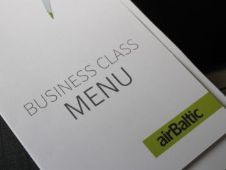 Air Baltic Business Class Stockholm-Riga