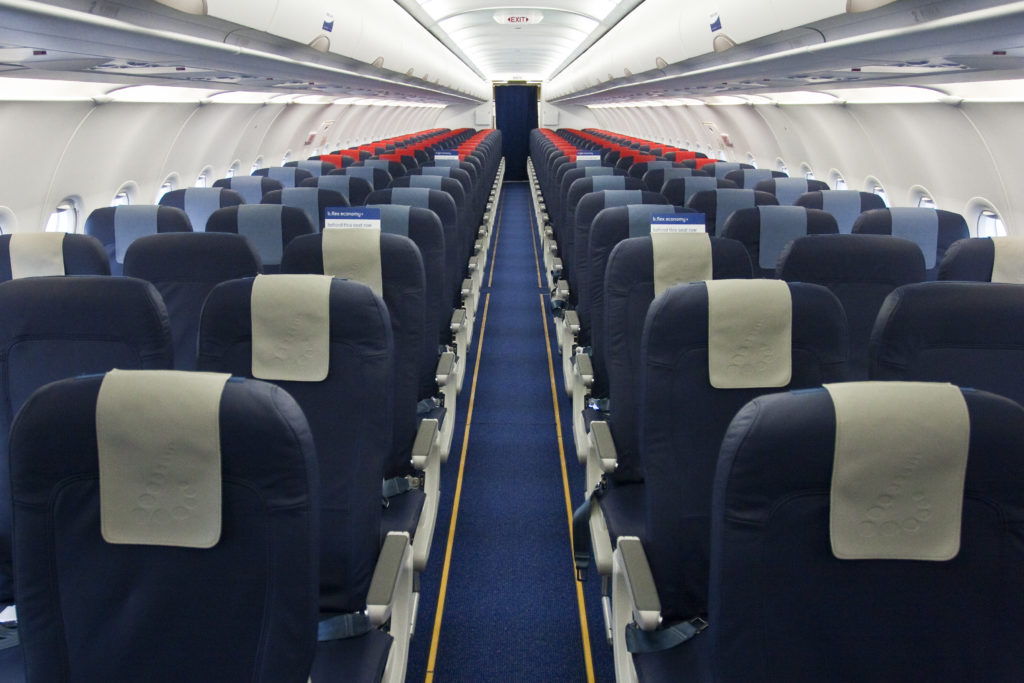Brussels Airlines shorthaul cabin overview