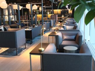 Business lounge Stavanger Sola interior