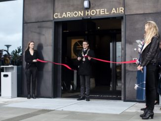 Clarion Hotel Air, Stavanger Sola Airport, Inauguration