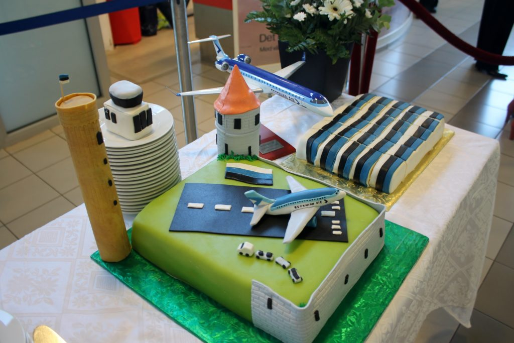 Estonian Air inauguration cake