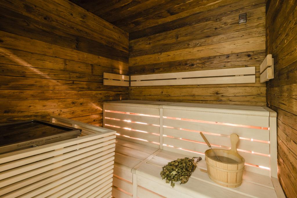 Finnair new Premium Lounge Helsinki Vantaa inside the sauna