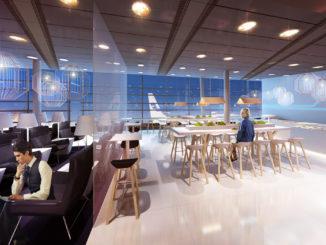 Finnair new Schengen lounge at Helsinki Vantaa