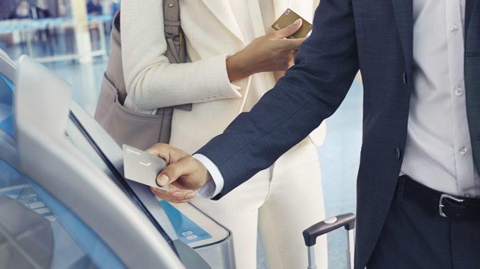 Finnair self service check-in