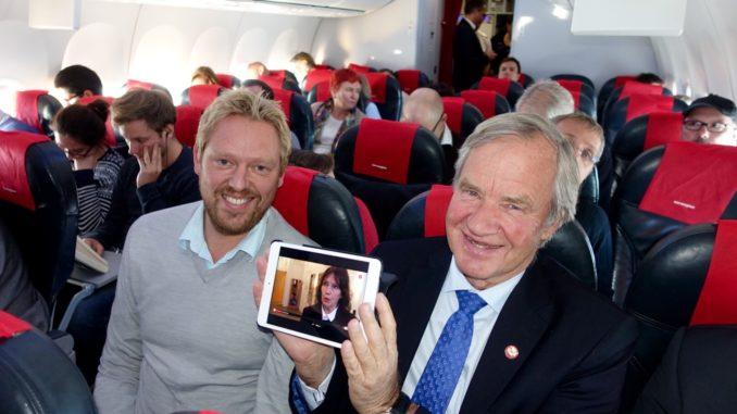 Norwegian Live TV onboard