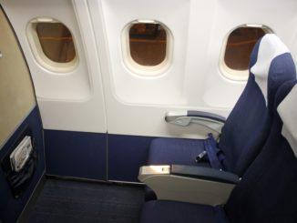 SAS Airbus A321 first row SAS Plus