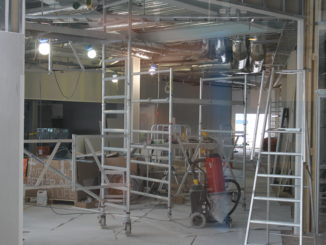 SAS Gold Lounge Stokholm Arlanda under construction