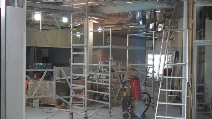SAS Gold Lounge Stokholm Arlanda under construction
