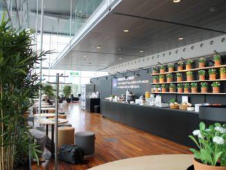 SAS Summer Pop-up lounge Stockholm Arlanda terminal 5
