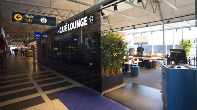 SAS cafe lounge Tromsø