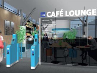 SAS cafe lounge Trondheim Vaernes