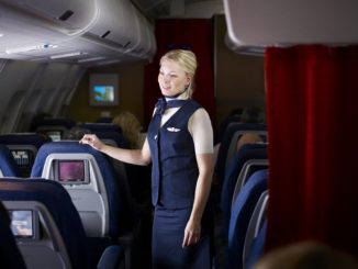 SAS crew - flight attendant