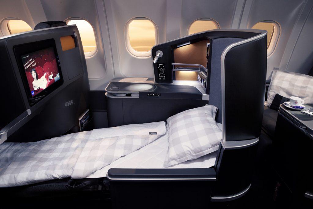 SAS new cabin - SAS Business Class