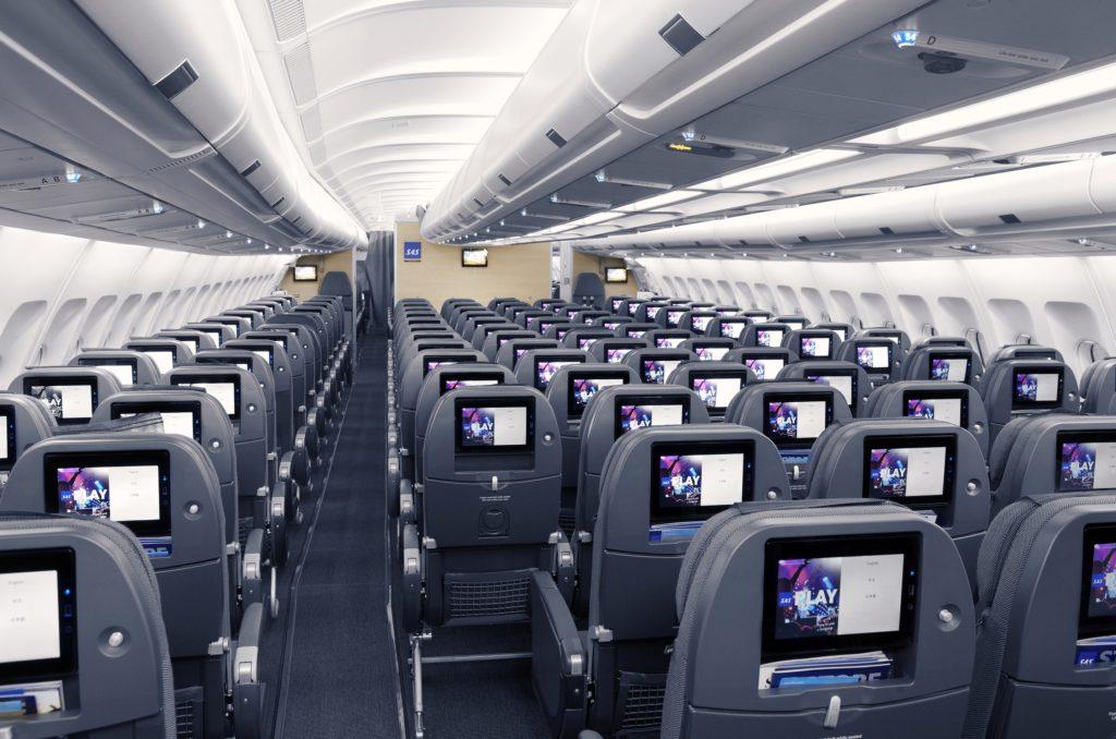 SAS new cabin - SAS Go Economy Class