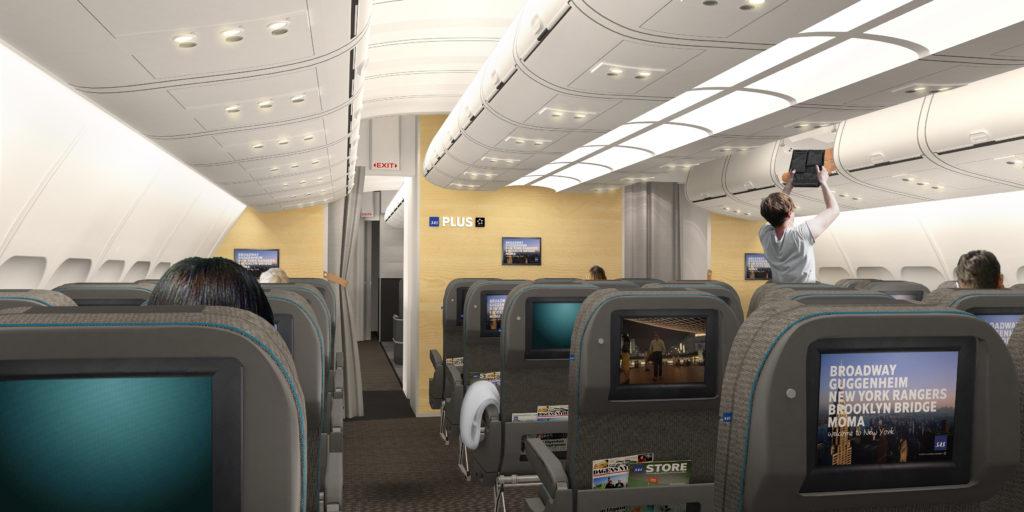 SAS new premium economy SAS Plus cabin