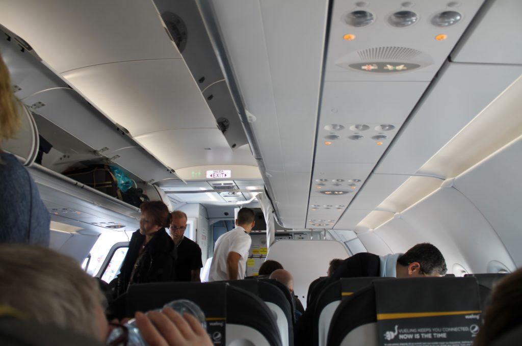 Vueling Economy Class Barcelona-Stockholm
