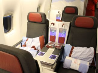 Austrian Airlines Business Class Vienna-Bangkok