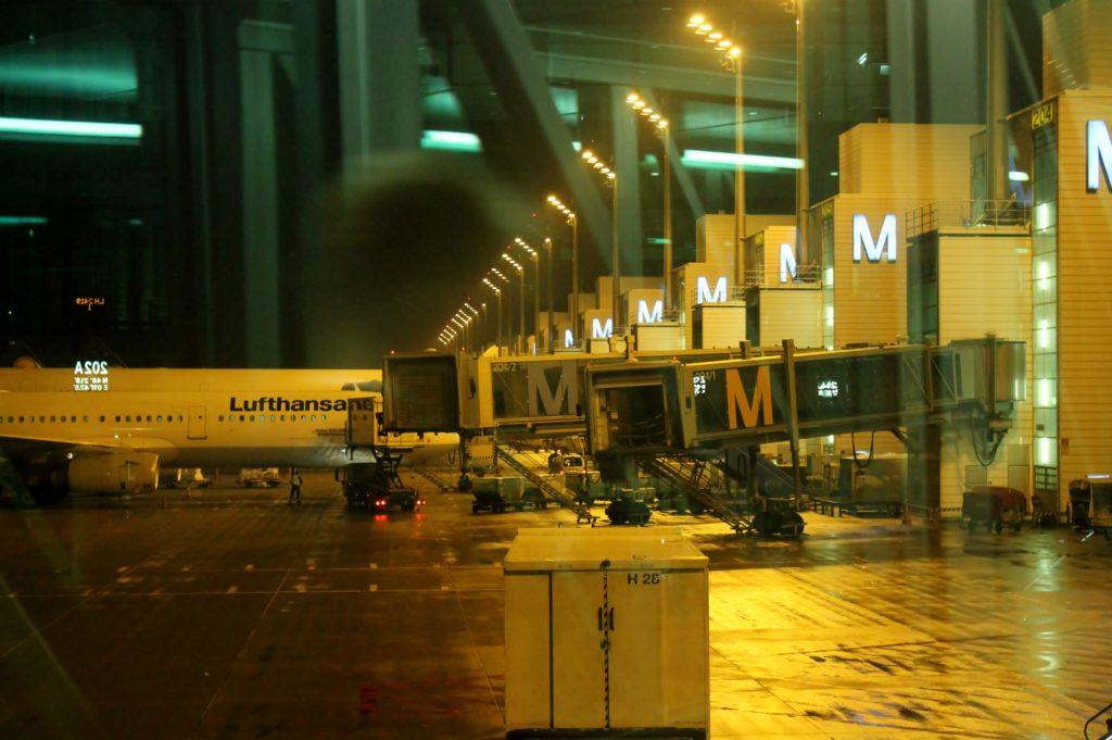 Lufthansa Business Class Stockholm-Munich terminal 2