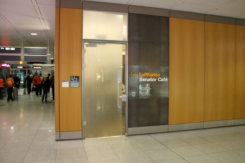 Lufthansa Senator Café, Munich