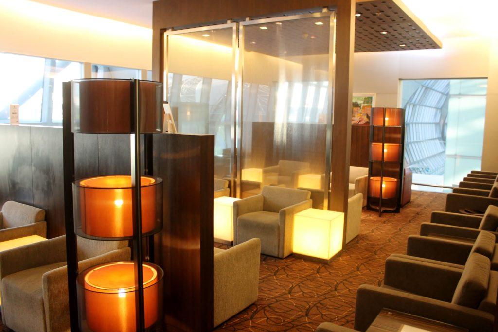 Singapore Airlines Economy Class Bangkok-Singapore Changi lounge