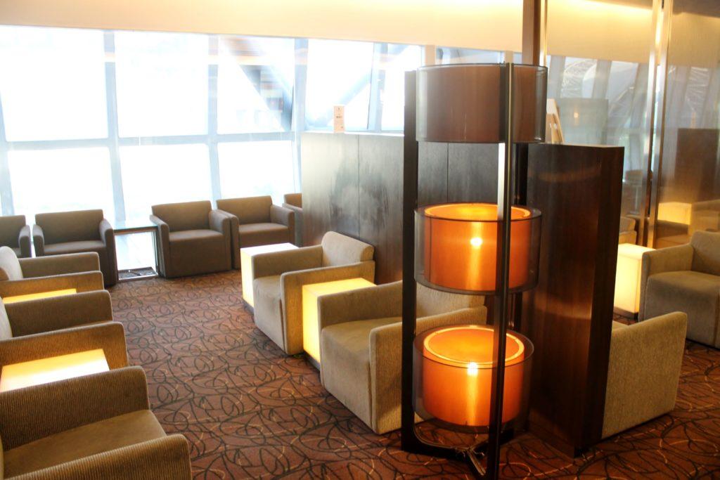 Singapore Airlines SilverKris Lounge, Bangkok Suvarnabhumi