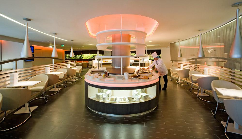 Skyteam Lounge London Heathrow terminal 4