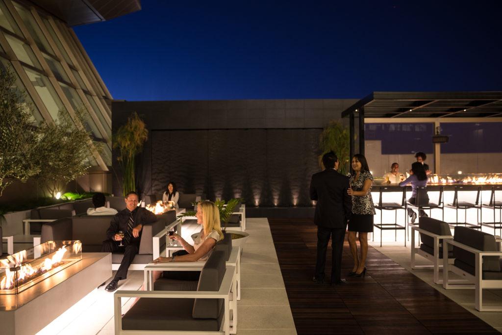 Star Alliance Lounge Los Angeles LAX