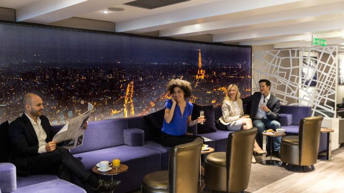 Star Alliance Lounge Paris CDG