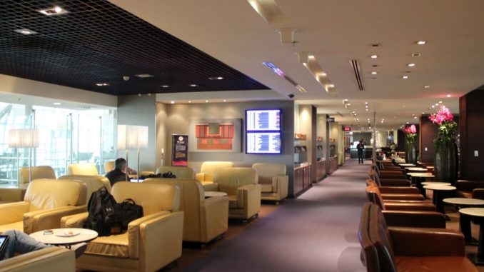 Thai Airways Royal Silk Lounge, Bangkok Suvarnabhumi Concourse D