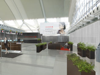 Air Canada new business class check-in Toronto