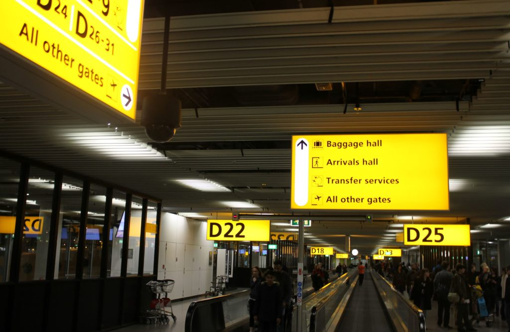British Airways Business Class London Gatwick-Amsterdam Schiphol