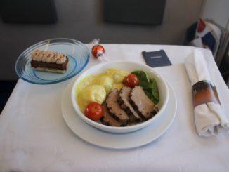 British Airways Comair Business Class Cape Town-Johannesburg