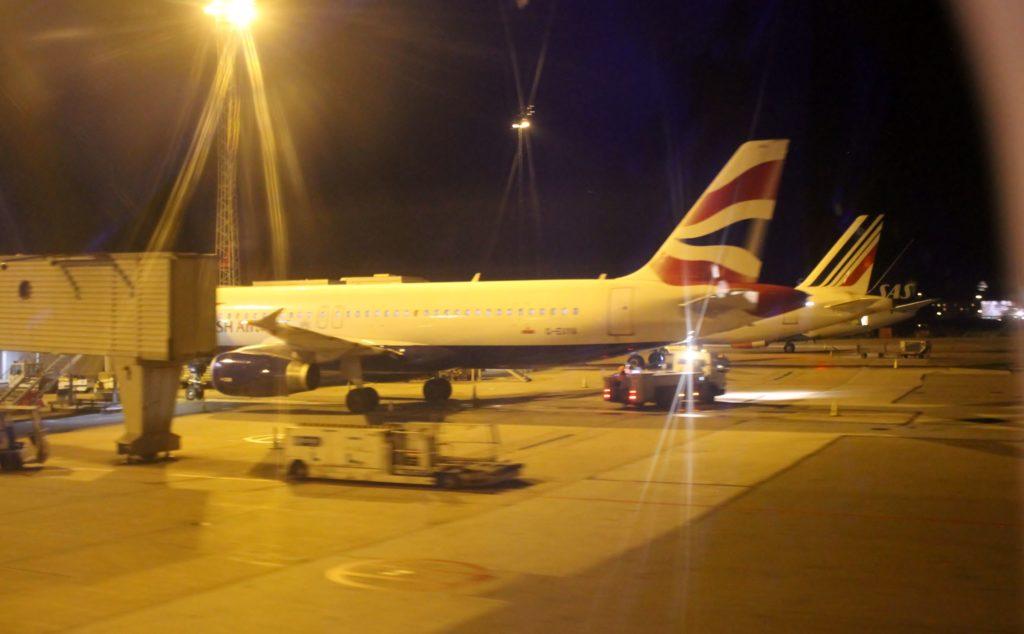 British Airways Economy Class London Heathrow-Stockholm Arlanda