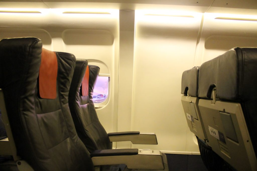 Brussels Airlines Economy Class Brussels-Stockholm Bromma