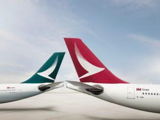 Cathay Pacific Cathay Dragon logos