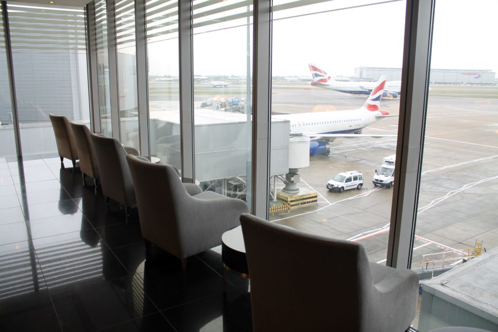 Cathay Pacific First Class Lounge, London Heathrow, Terminal 3