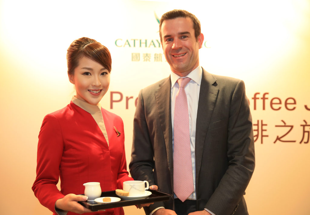 Cathay Pacific General Manager Inflight Services Dominic Perret