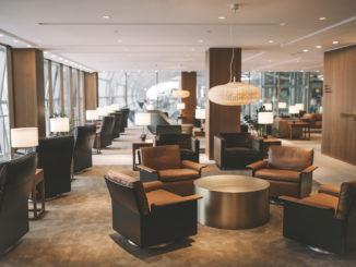 Cathay Pacific Lounge Bangkok seating area