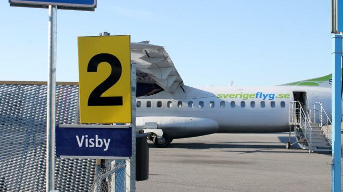 Gotlandsflyg Stockholm Bromma-Visby