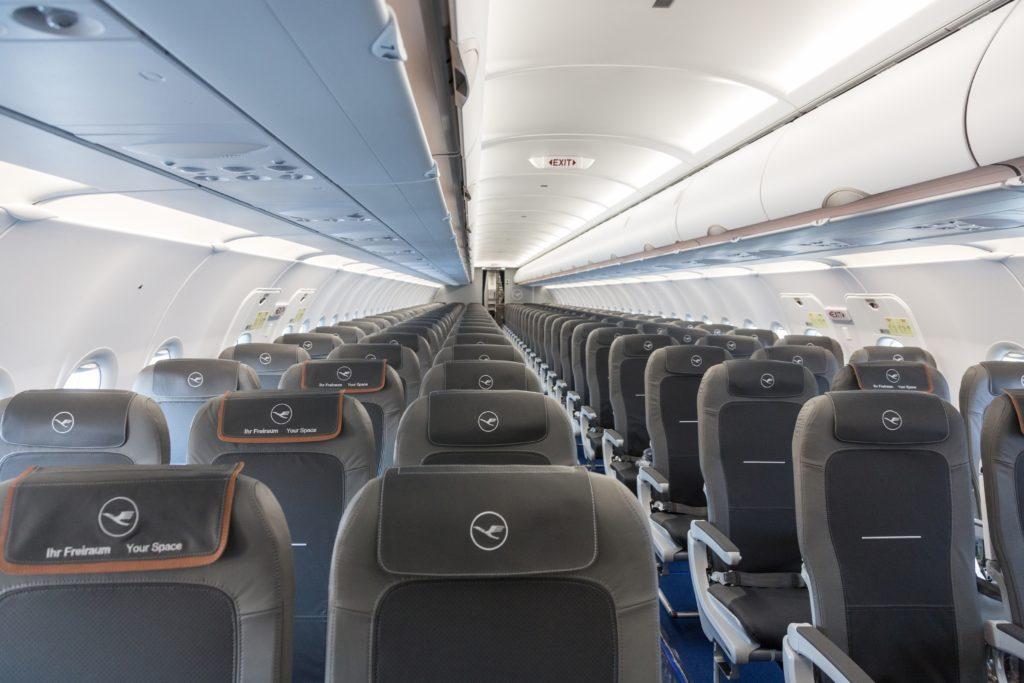 Lufthansa Airbus A320NEO cabin