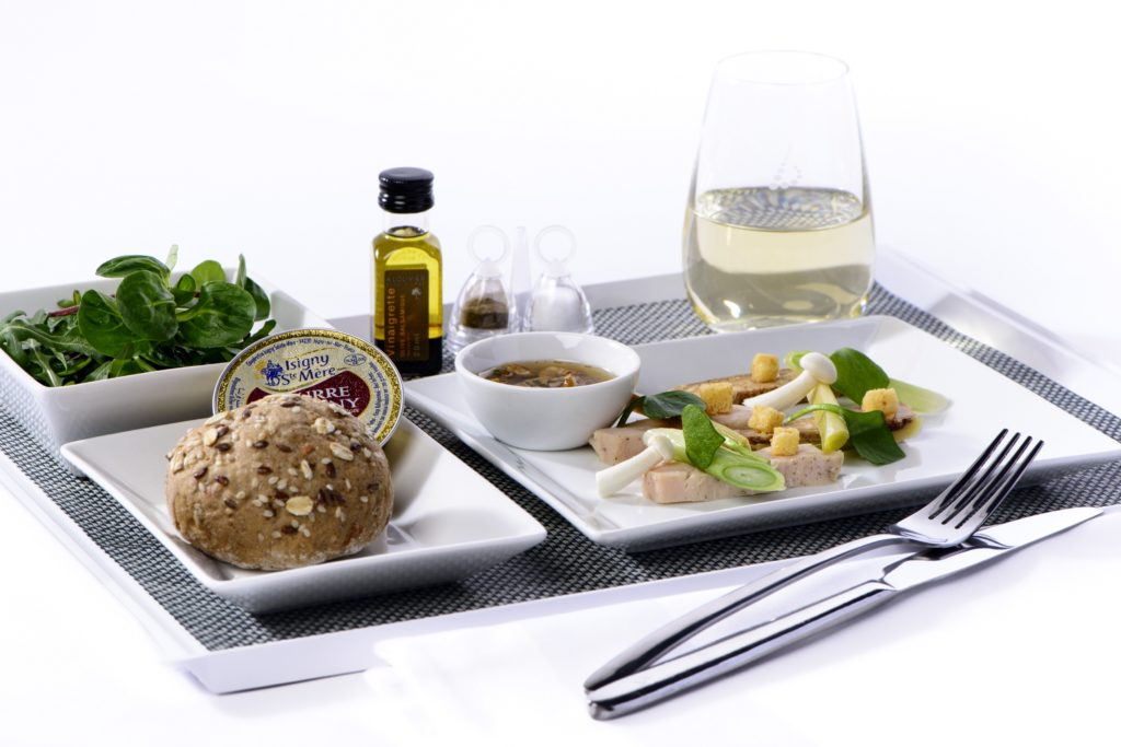Michelin-star chef Pierre Résimont to create menus in Brussels Airlines business class