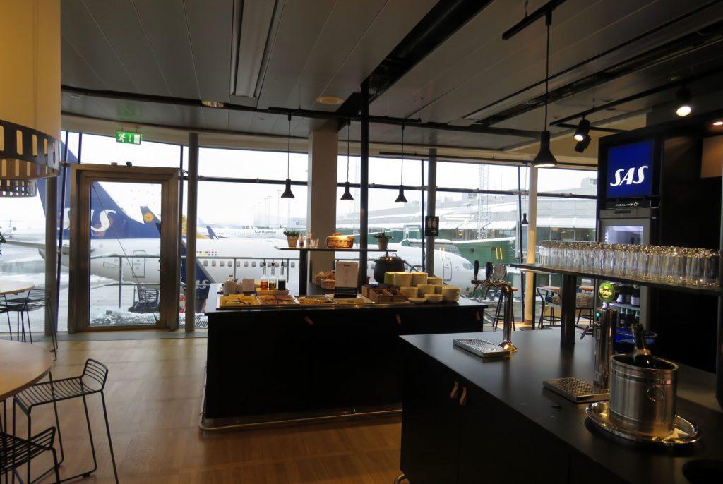 SAS Lounge, Gothenburg Landvetter