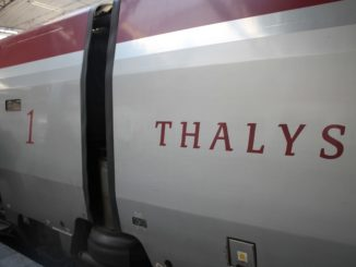 Thalys First Class (Comfort 1) Amsterdam-Brussels
