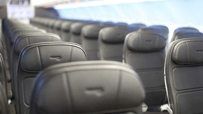British Airways new shorthaul economy class cabin